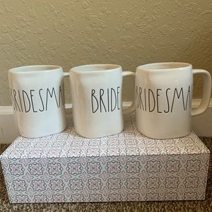 Rae Dunn Bride & Bridesmaid Mugs